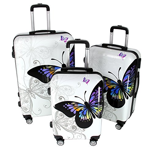 koffer butterfly hartschalenkoffer reisekoffer trolley. Black Bedroom Furniture Sets. Home Design Ideas